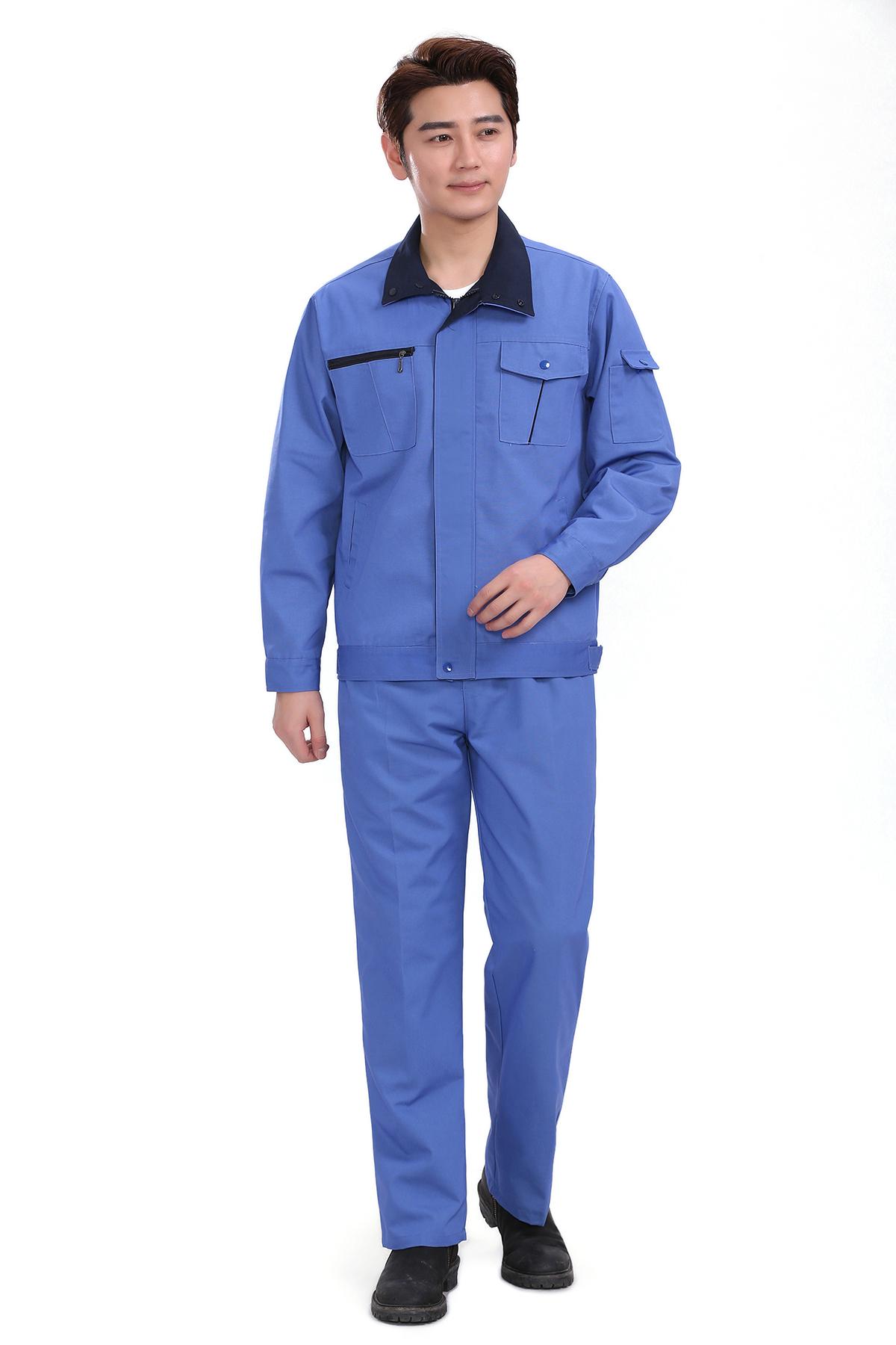 春装长袖工作服