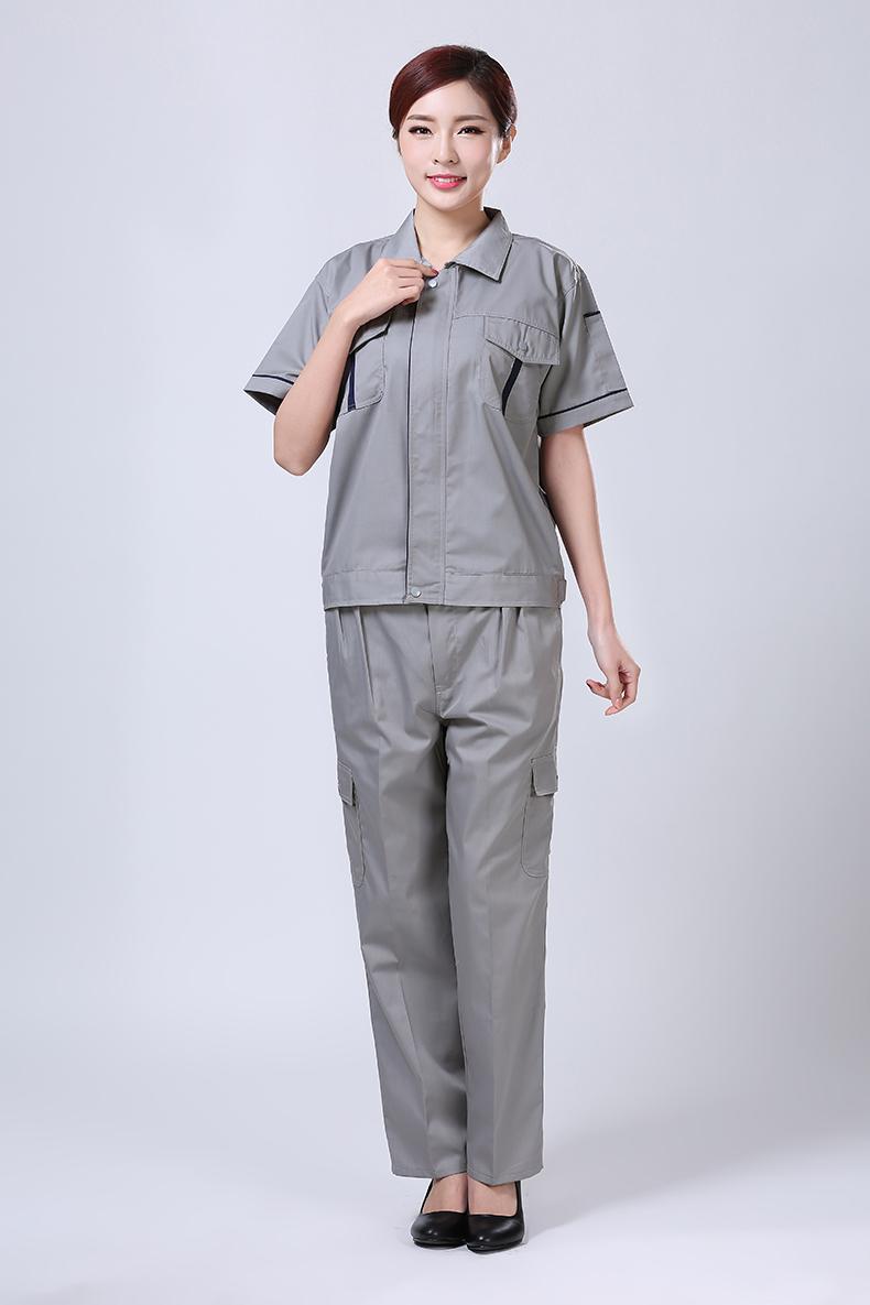 夏装短袖工作服